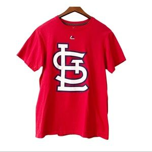 Majestic St. Louis Cardinals MLB Red T-Shirt M